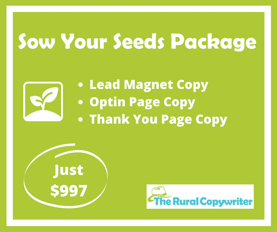 Sow Your Seeds Package - Grow Your Email Database