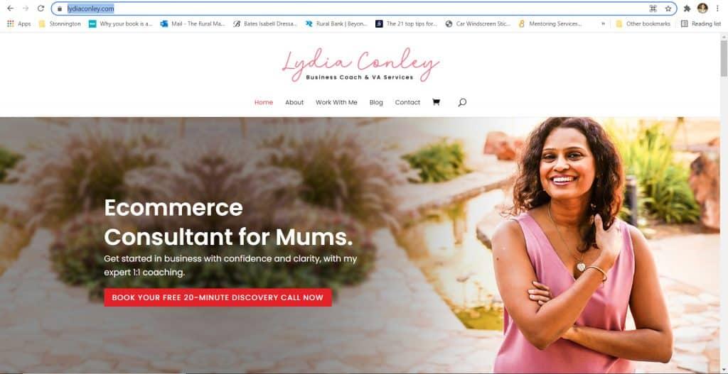 Lydia Conley - eCommerce - The Rural Copywriter